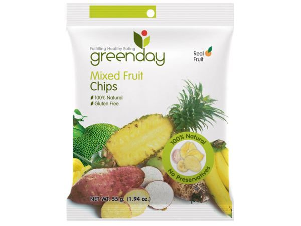 Mixed Fruit Chips 55g
